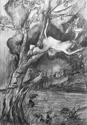 Христина Верхогляд Небилиці про корову Полонне Особлива відзнака за оригінальність техніки виконання