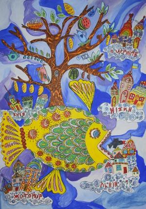 Анастасія Майорова Від Ніжина до Львова Ніжин Лауреат ІІІ ступеня у віковій категорії 8-12 років