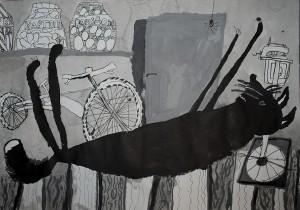 Северин Яськів Кіт у підвалі Львів Лауреат ІІ ступеня у віковій категорії 5-7 років