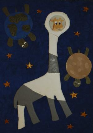 Тетяна Буриник Що сниться жирафам? Стрий Особлива відзнака за креативність техніки виконання