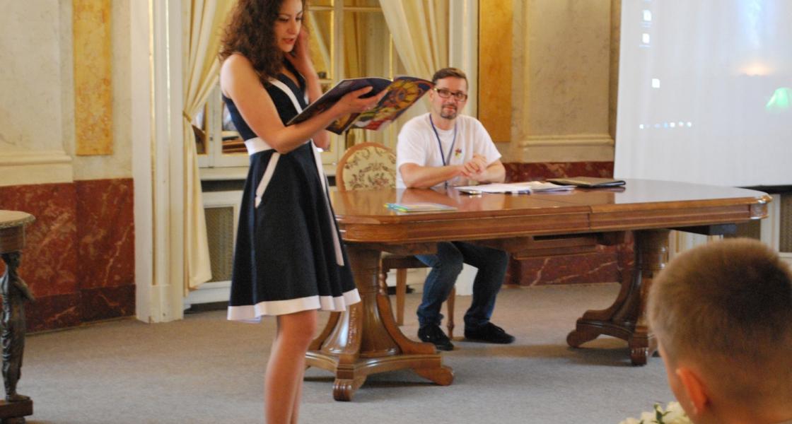 Другий день міжнародного казкового трієнале у Львові.