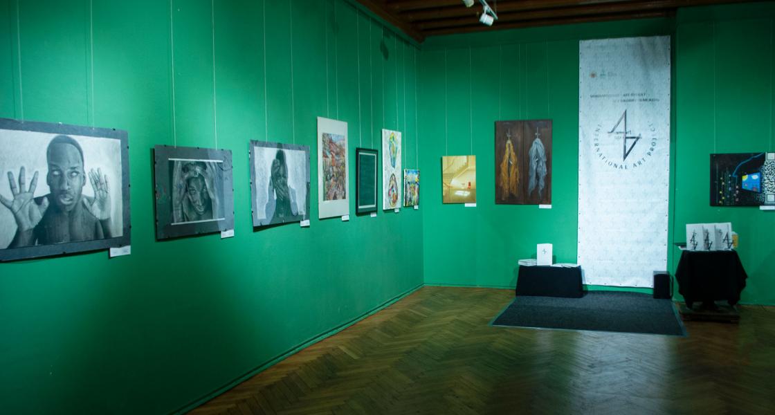 Виставка Міжнародного мистецького проєкту без вікових обмежень ART AXIS на тему «Шлях до себе»