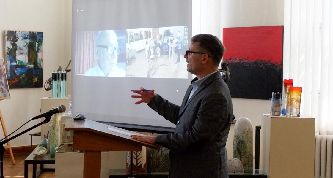 Вітаємо пана Олега Болюка з успішним захистом дисертації на здобуття наукового ступеня доктора мистецтвознавства!